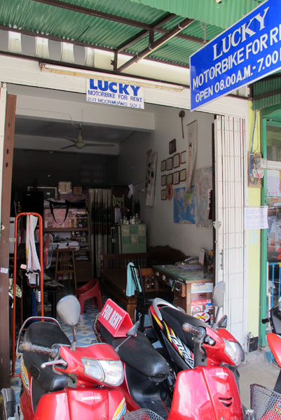Lucky Motorbike for Rent