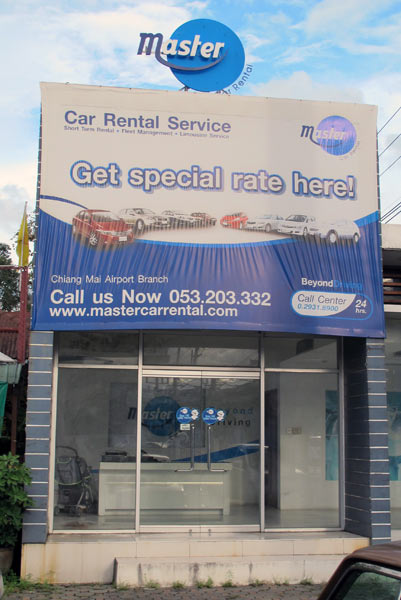 Master Car Rental Service @Local Gas Station (Airport Rd)