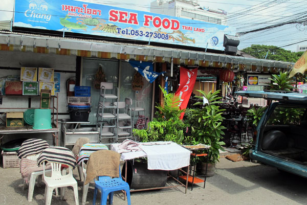 Mho-O-Cha Seafood @Anusarn Market
