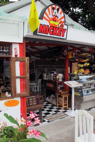 Mickey Cafe