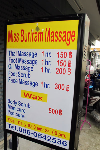Miss Buriram Massage