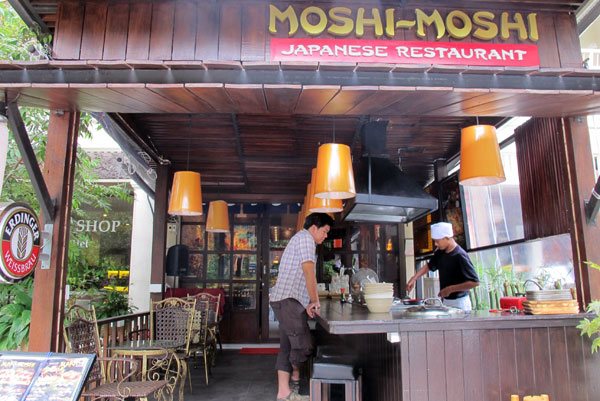 Moshi-Moshi Tepanyaki and Sushi bar