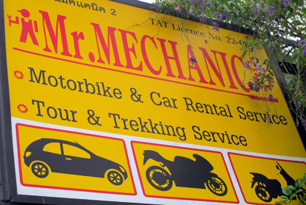 Mr. Mechanic Motorbike & Car Rental Service (Moonmuang Rd)