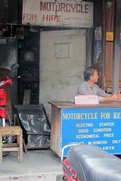 Mr. Sonchai Motorcycle for Hire