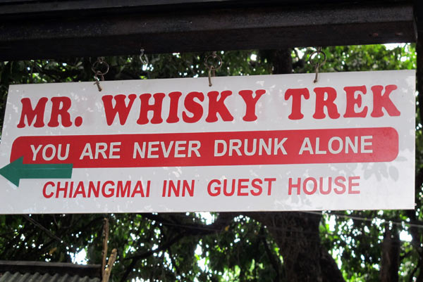 Mr. Whisky Trek @Chiangmai Inn Guesthouse