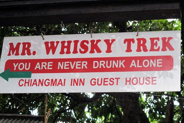 Mr. Whisky Trek @Chiangmai Inn Guesthouse