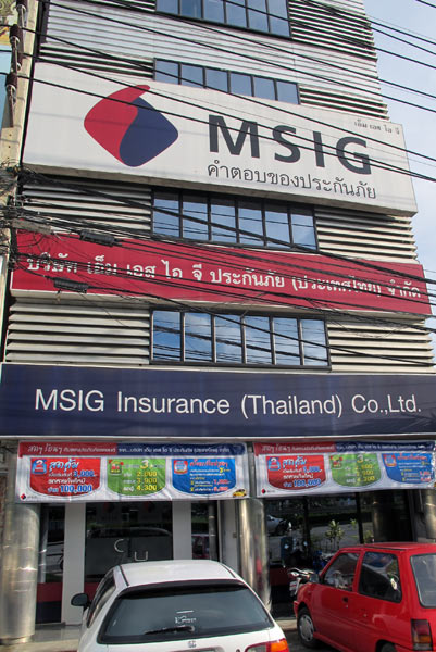 MSIG Insurance (Thailand) Co., Ltd.