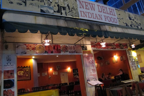 New Delhi Indian Food