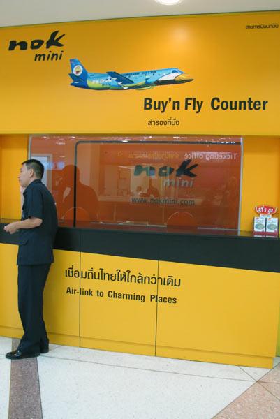 Nok Air @Chiang Mai Airport