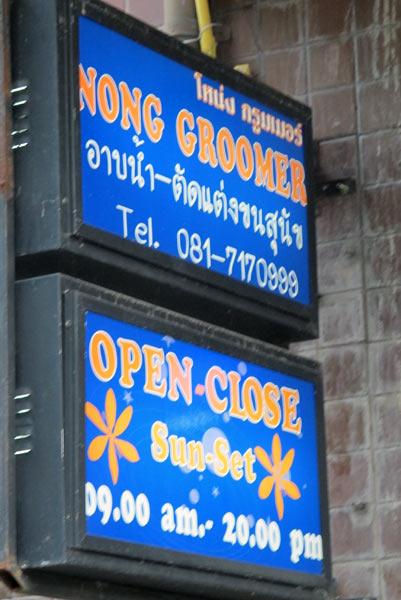 Nong Groomer @Chiang Mai Land