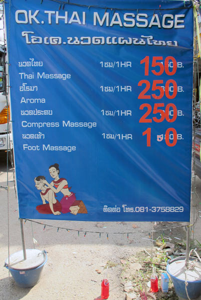 OK. Thai Massage