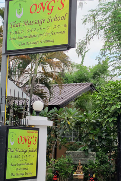 Ong's Thai Massage Training