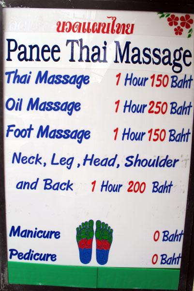 Panee Thai Massage
