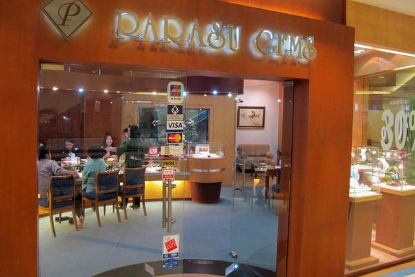 Parasu Gems @Central Airport Plaza