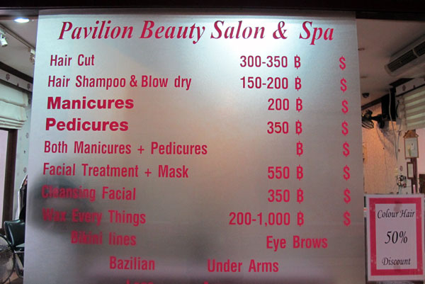 Pavilion Beauty Salon @Pavilion Night Bazaar