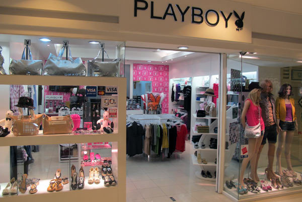 Playboy clothing store online