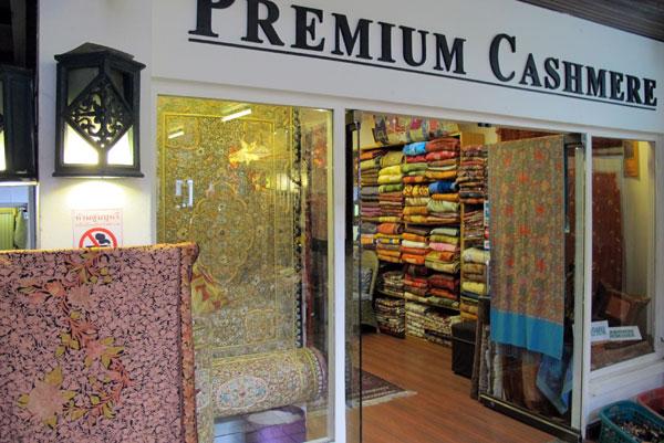 Premium Cashmere @Pavilion Night Bazaar
