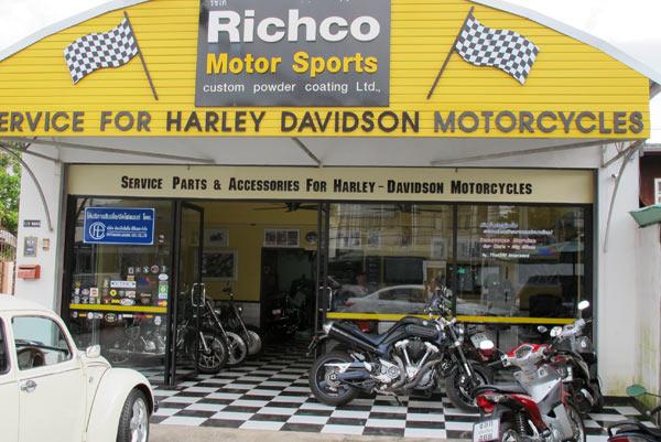 Richco Motor Sports Ltd. Partnership (new address)
