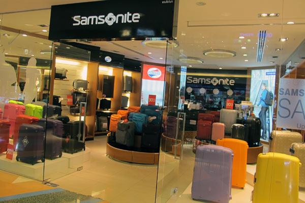 Samsonite @Central Airport Plaza