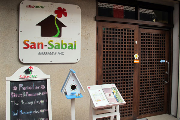 San-Sabai Massage & Nail @Nimman Promenade