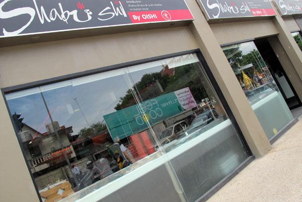 Shabushi by Oishi (@Pantip Plaza)