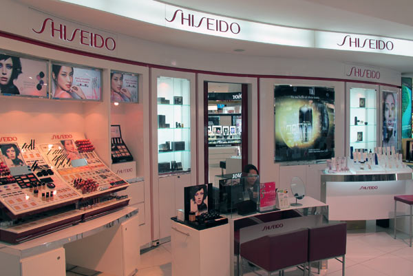 Shiseido @Robinson @Central Airport Plaza