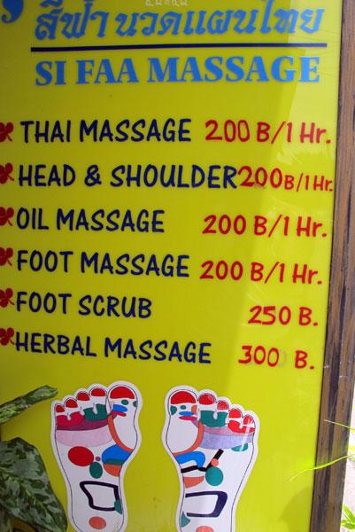 Phaka thai-massage