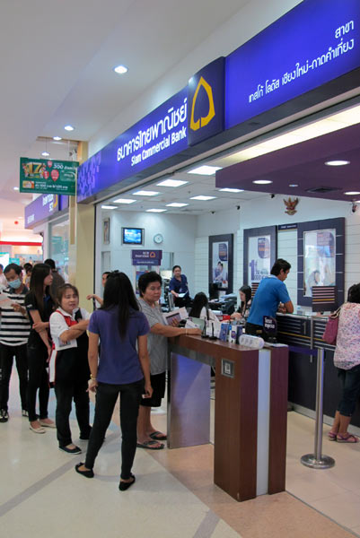 Siam Commercial Bank @Tesco Lotus Chiang Mai Kad Kamtiang