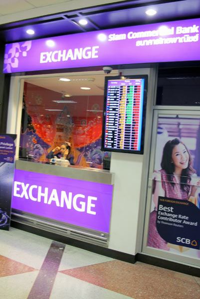 Siam Commercial Bank Exchange @Chiang Mai Airport