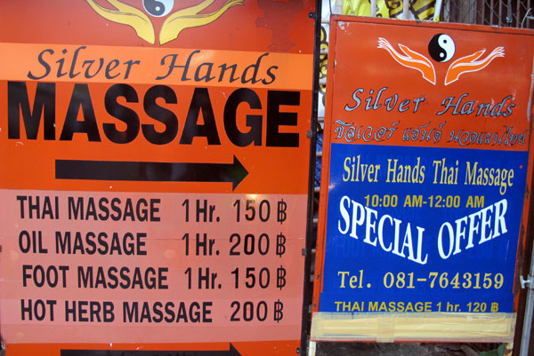Silver Hands Massage