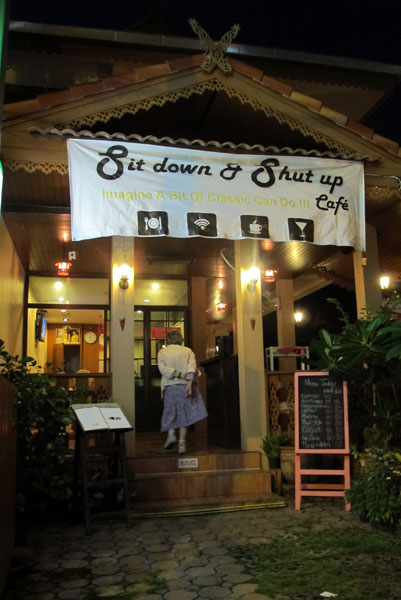 Sit Down & Shup Up Cafe