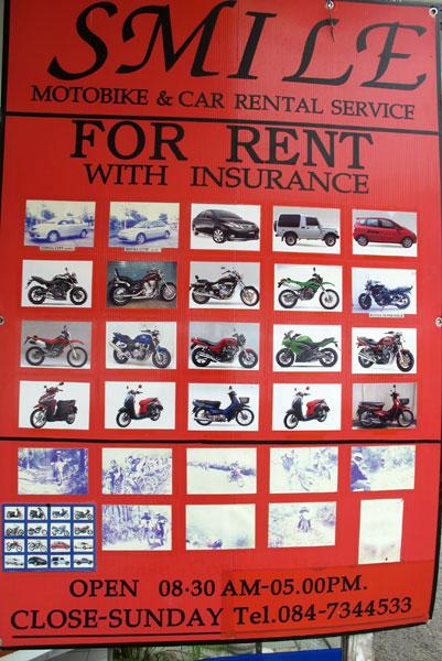 Smile Motorbike & Car Rental Service @Honda