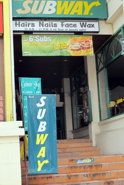 Subway (Pavilion Night Bazaar Branch)