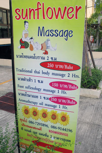 Sunflower Massage @P&S Mansion 2