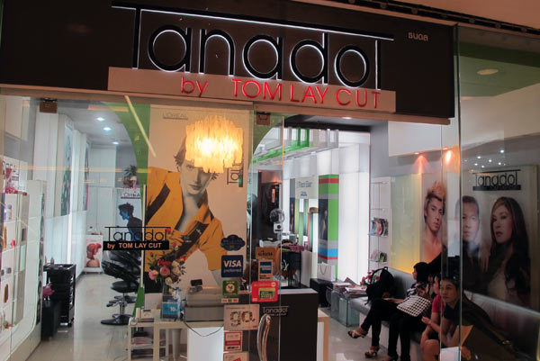 Tanadol by Tom Lay Cut @Central Airport Plaza