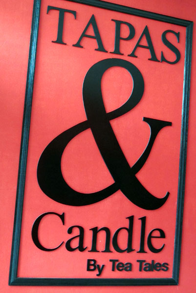 Tapas & Candle