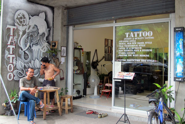 Tattoo Protection Thai Style