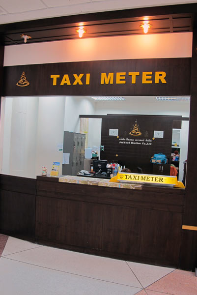 Taxi Meter Jed Yord Brother Co., Ltd. @Chiang Mai Airport