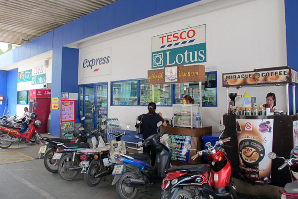Tesco Lotus Express @Esso (Ratchawong Rd)
