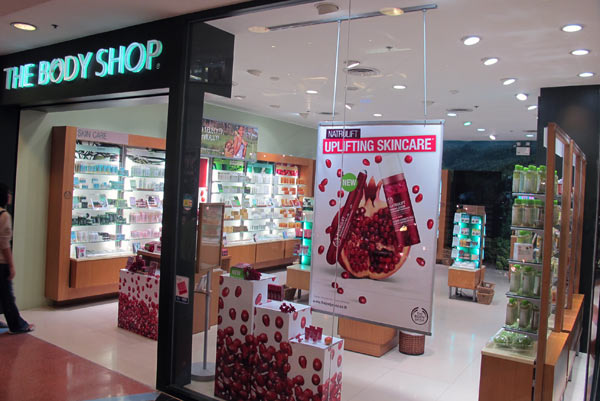 The Body Shop @Central Airport Plaza