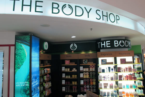 The Body Shop @Robinson @Central Airport Plaza