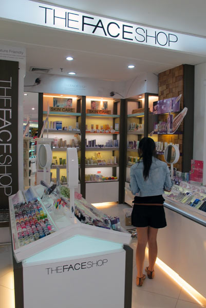 The Face Shop @Robinson @Central Airport Plaza