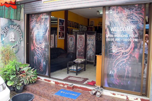 The Master Tattoo (Loi Kroh Rd Lane 2)