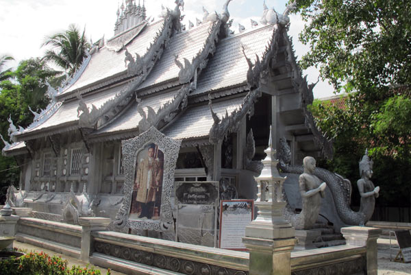 The Silver Ubosoth @Wat Srisuphan