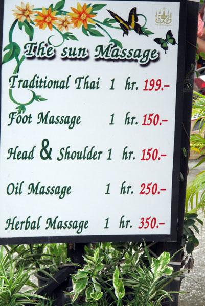 The Sun Massage