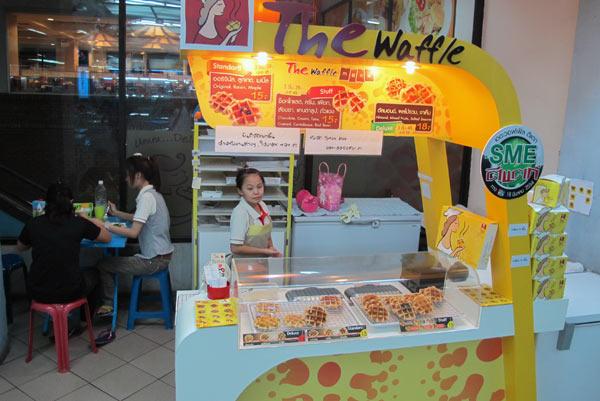 The Waffle @Kad Suan Kaew