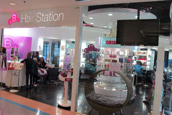To B1 Hair Station @Central Airport Plaza