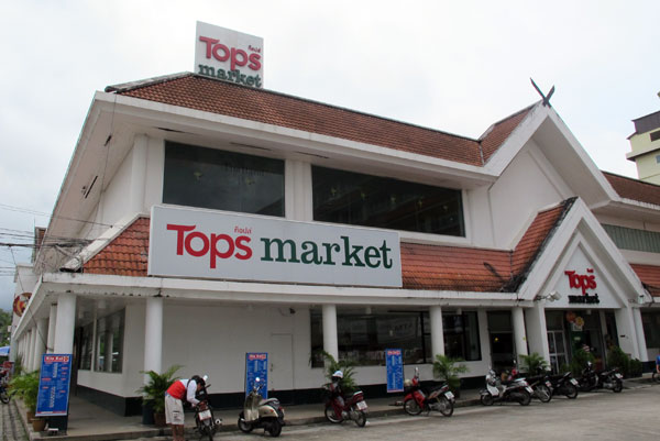 Tops market Chotana (Chang Phuak Rd)