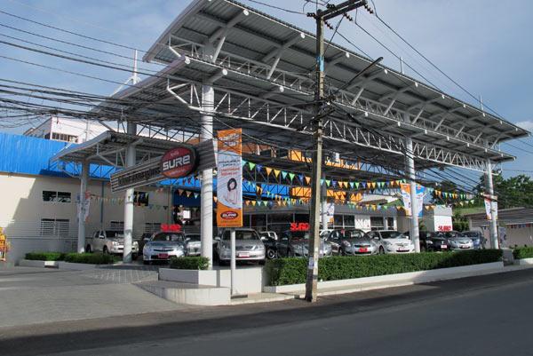 Toyota Sure (Chiang Mai - Lampang Superhighway)