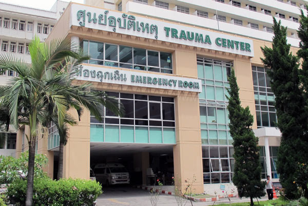 Trauma Center @Maharaj Nakorn Chiang Mai Hospital